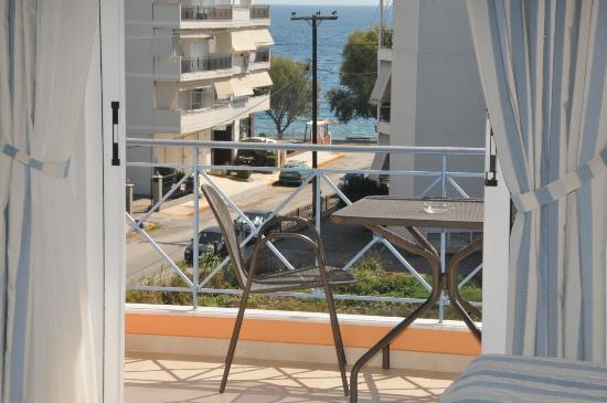 Lefkandi, Griechenland: room view