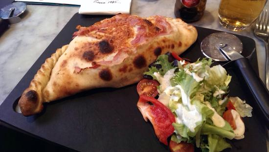 Calzone Diavolo Picture Of Pizza Express Macclesfield