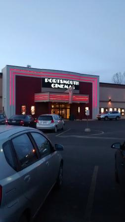 Portsmouth Cinemas front parking lot.