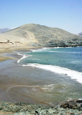 Playa Las Gemelas (Tortugas), Casma, Ancash