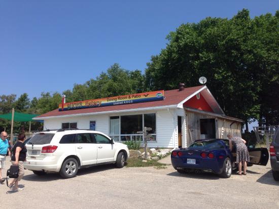 Gore Bay, Canadá: Buoy's Eatery yummy