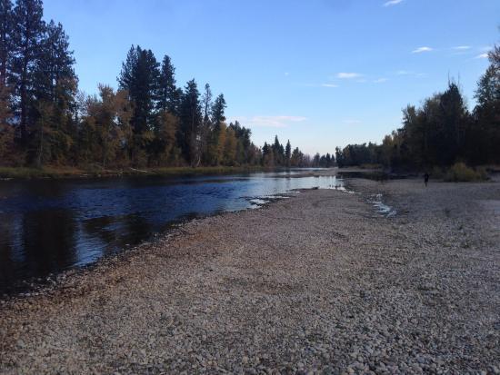 Stevensville, MT: Bitterroot River