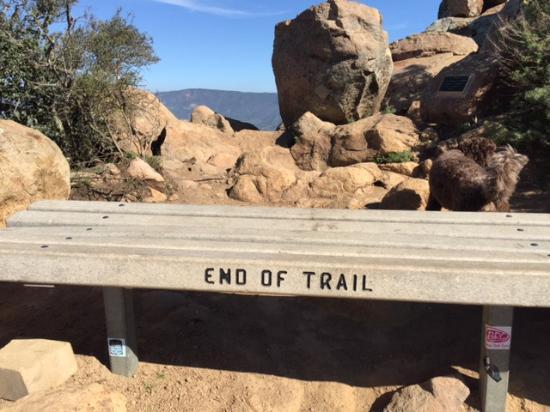 Bishop Peak: My favorite - we made it to the top!