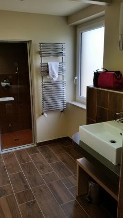 center parcs domaine le bois aux daims la salle de bain avec hammam et sauna - Salle De Bain Avec Sauna
