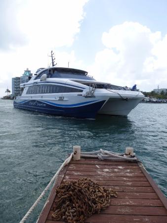 Oyster Pond, St. Martin/St. Maarten: ferry to St.Barths