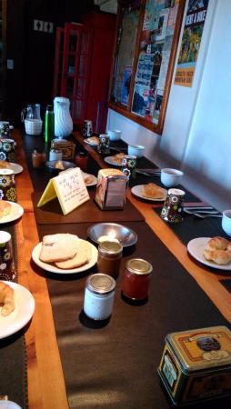 Hostel 41 Below : Desayuno listo!