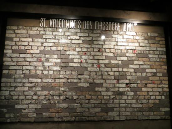 st. valentine's day massacre wall.chicago, il - picture of the, Ideas