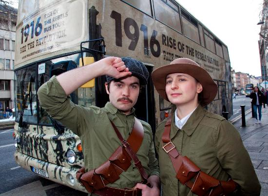 ‪1916 Rise of the Rebels Bus Tour‬