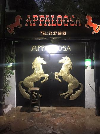 Appaloosa Restaurant: NEW : additional security iron gates
