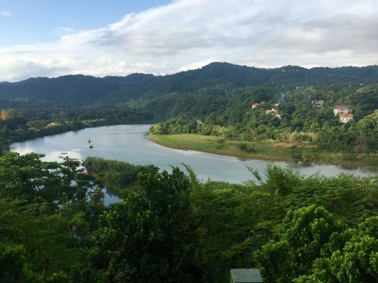 Rio Vista Resort: The view from the balcony of the Amore Villa. No filter. It is breathtaking!