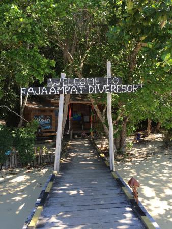 Raja ampat dive resort cottages dive shop and island picture of raja ampat dive resort raja - Raja ampat dive resort ...