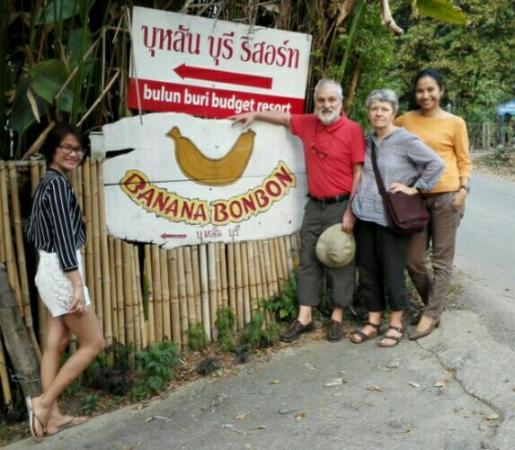 Bulun Buri Resort Chiangmai: Ingresso al BULUM BURI
