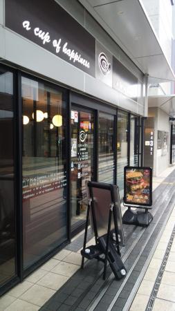 Café de Crie JR Takatsukiekimae