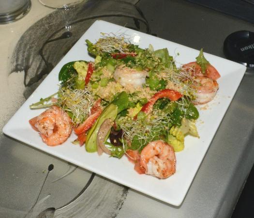 asian shrimp salad photos