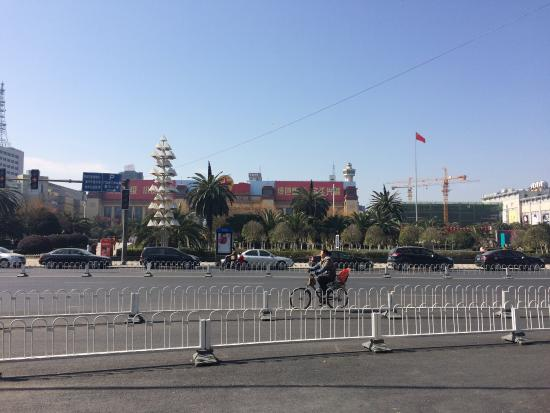 Nanchang Bayi Square: Nothing much to see.