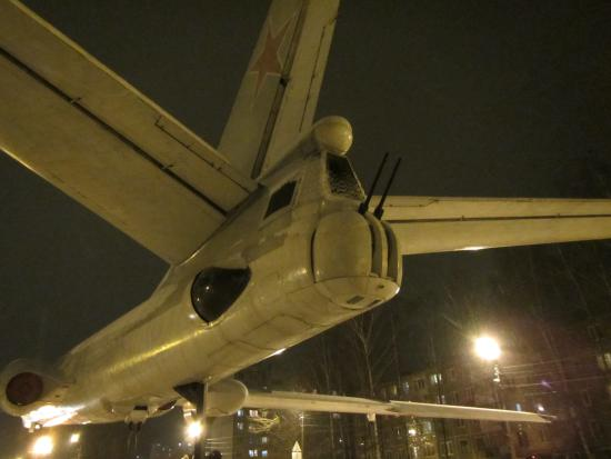 Monument-Airplane Tu-16