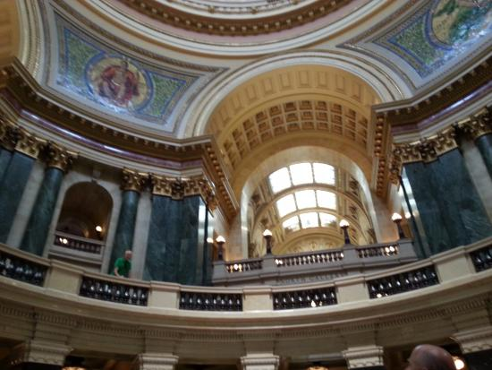 wisconsin capital dome picture of wisconsin state capitol madison rh tripadvisor com