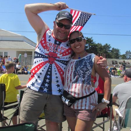 Long Beach, WA: dress festivce