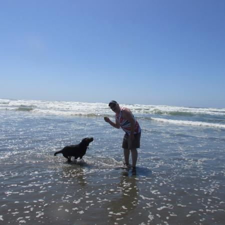 Long Beach, WA: enjoy your family and pets..who knows how long left you have with either...