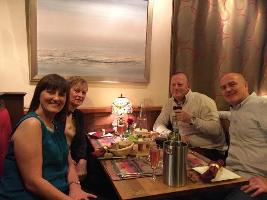 Happy Birthday Party Picture Of Vine Leaf Restaurant St Andrews