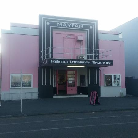 Mayfair Theatre: Mayfair Cinema Frontage
