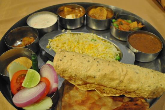 Hotel Swagath: thali