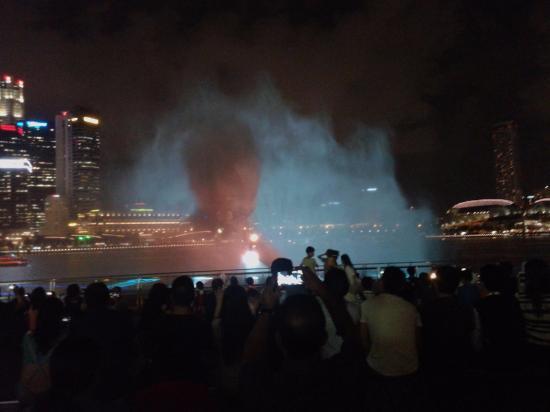 Sentosa Rider : Festival de luz, sonido y fuego desde Marina Bay