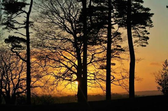 Tullaghoge Fort: Early morning sunrise sept 15.