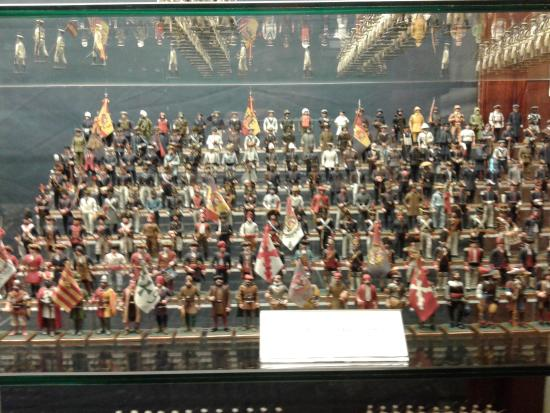 Maqueta del Canarias - Picture of Naval Museum, Madrid ...