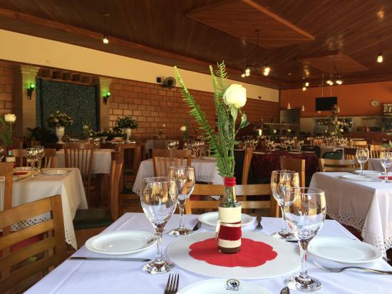 Foto De Restaurante São Marcos Orlandia Mesas Decoradas