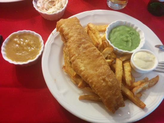 Picture of piccadilly restaurant niagara for Fish and chips sauce