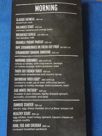 Auburn, AL: Breakfast menu