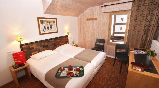 Hôtel la Galise : Chambre standard 3ème