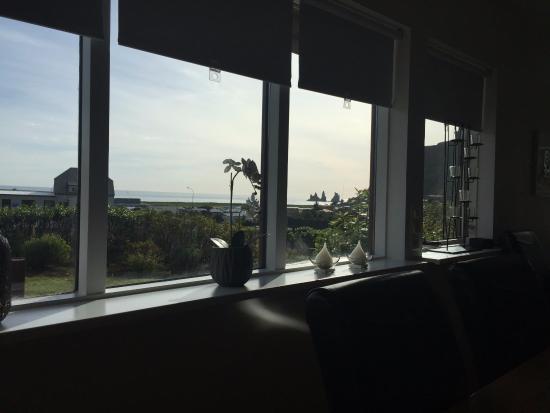 Like Vik Guesthouse: Der Blick vom Wohnzimmer aus