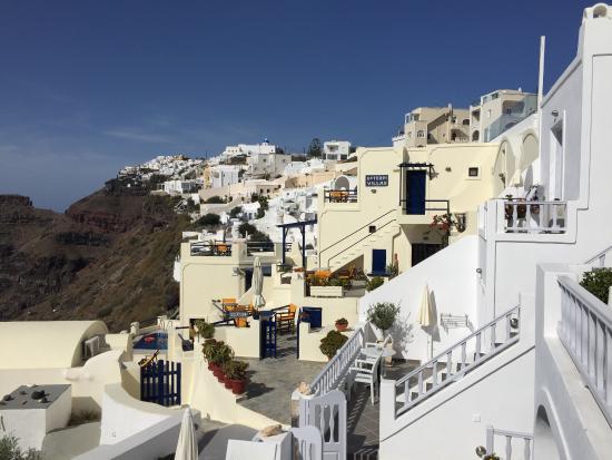 Santorini View: Vue !