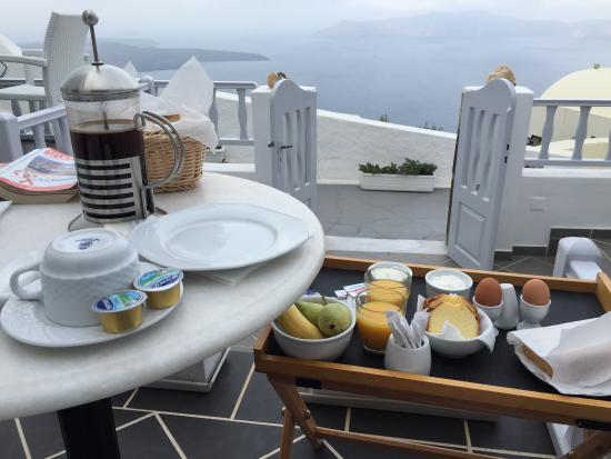 Santorini View: Quel petit déjà' !
