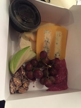5 Cheese Plate to-go....fresh and delicious.