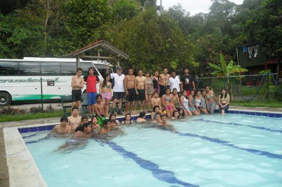 Tobia, Colombia: De campamento 3 días y disfrutando de las instalaciones.