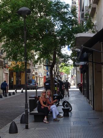 Lafayette Hotel: la rue devant l'hôtel