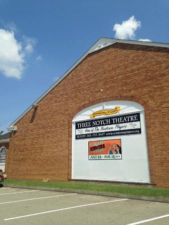 Three Notch Theatre home of The Newtowne Players