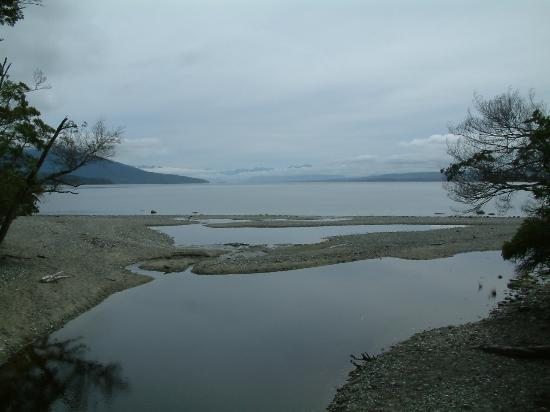 view of lake te anau from a bridge on the track picture of kepler rh tripadvisor co uk