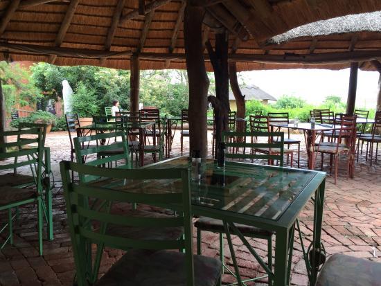 Thokozisa: het terras