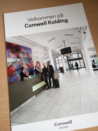 Comwell Kolding : Welcome brochure