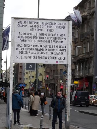 checkpoint charlie picture of checkpoint charlie berlin tripadvisor. Black Bedroom Furniture Sets. Home Design Ideas