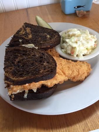 ... Street Cafe: Cape Cod Reuben, Breakfast Pizza & Lemon Raspberry Muffin