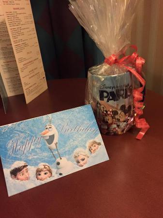 Disneys Hotel New York Birthday Present