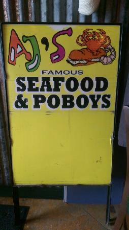AJ's Famous Seafood and Po Boys: A popular spot