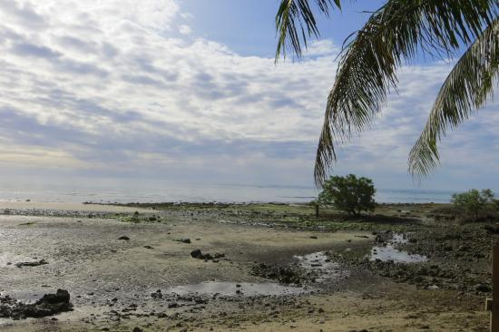 Bohol Province, Filipinas: Low tide