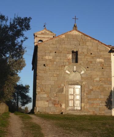 Capraia e Limite, Italija: Chiesa di San Jacopo a Pulignano - facciata