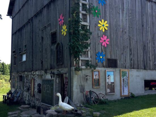 Victoria Harbour, Καναδάς: Summer at the Newton Street Art Barn